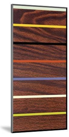 Woodgrain and Stripe-Dan Bleier-Mounted Giclee Print