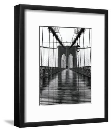 Brooklyn Bridge-Christopher Bliss-Framed Giclee Print