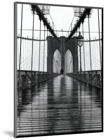 Brooklyn Bridge-Christopher Bliss-Mounted Giclee Print