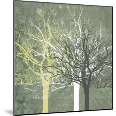 Silent Forest-Erin Clark-Mounted Giclee Print