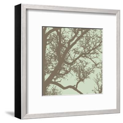 Winter Tree IV-Erin Clark-Framed Giclee Print