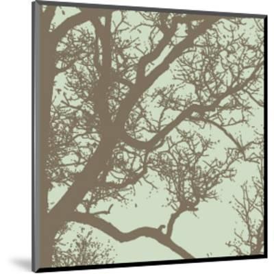 Winter Tree IV-Erin Clark-Mounted Giclee Print