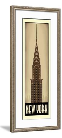 New York-Steve Forney-Framed Giclee Print