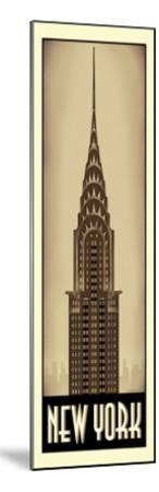 New York-Steve Forney-Mounted Giclee Print