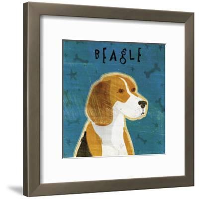 Beagle-John Golden-Framed Giclee Print