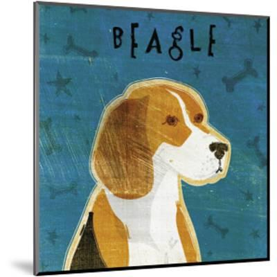 Beagle-John Golden-Mounted Giclee Print