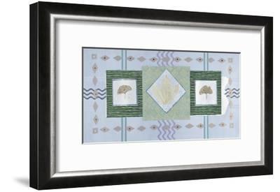 Ginkgoes-P^ G^ Gravele-Framed Giclee Print