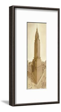 Bustling Metropolis-S^ Garrett-Framed Giclee Print