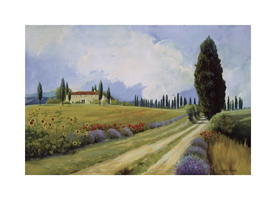 Holiday in Tuscany-Hawley-Giclee Print