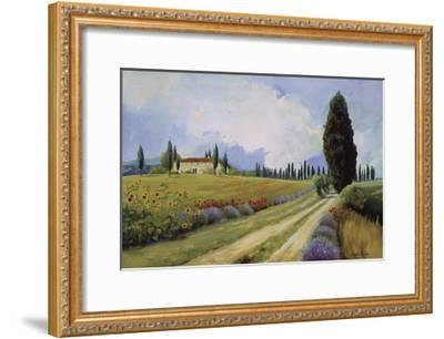 Holiday in Tuscany-Hawley-Framed Giclee Print