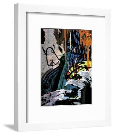 Blue Orange Layers II-Jenny Kraft-Framed Giclee Print