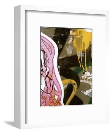 Pink Yellow Tag II-Jenny Kraft-Framed Giclee Print