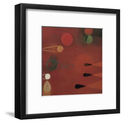 Red Seed, no. 30-Bill Mead-Framed Giclee Print