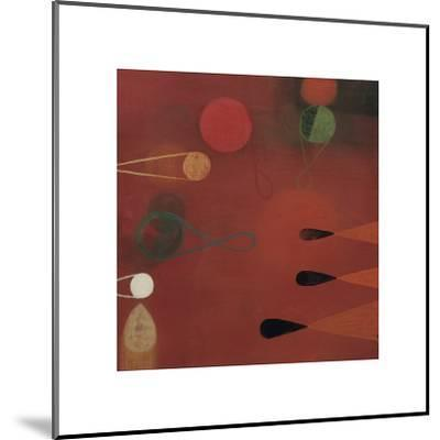 Red Seed, no. 30-Bill Mead-Mounted Giclee Print
