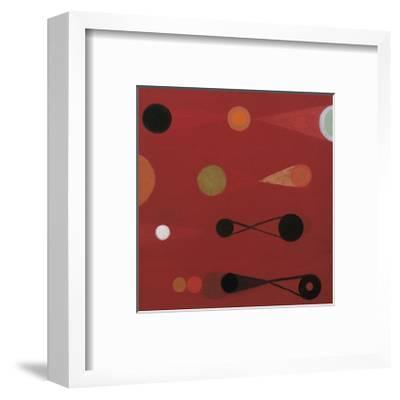 Red Seed, no. 13-Bill Mead-Framed Giclee Print