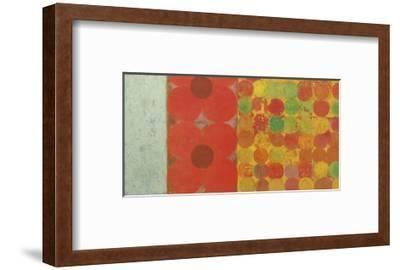 Flowers and Dots, no. 1-Bill Mead-Framed Giclee Print