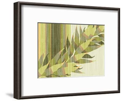 Water Leaves II-Mali Nave-Framed Giclee Print
