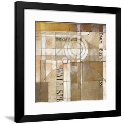 Daily Business-Alec Parker-Framed Giclee Print