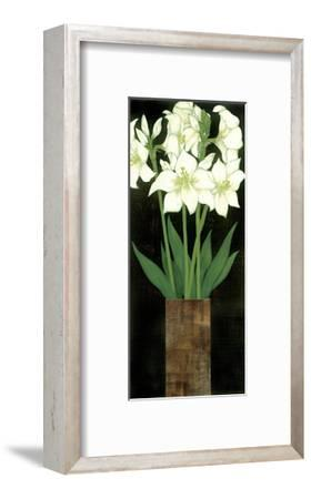 Perfect White Lilies-R^ Rafferty-Framed Giclee Print