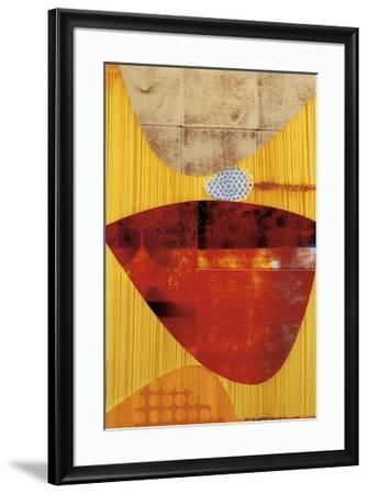 Cha-Cha-Rex Ray-Framed Giclee Print