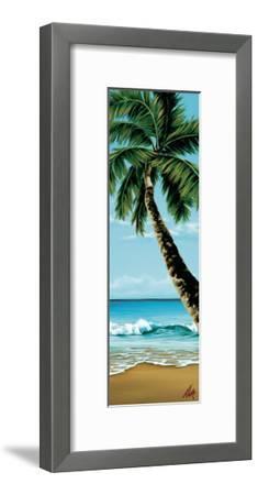 Shady Beach-Pete Tillack-Framed Giclee Print