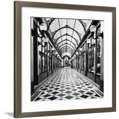 Passage des Princes, Paris-Dave Butcher-Framed Art Print