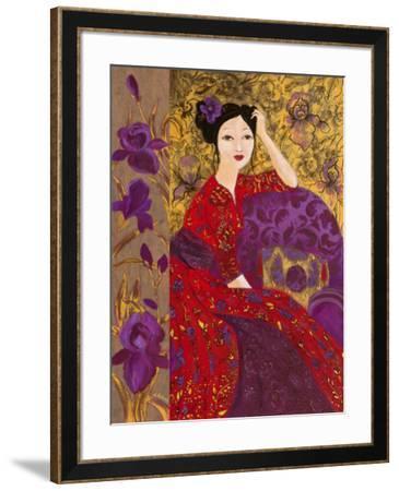 Printemps Lointain-Loetitia Pillault-Framed Art Print