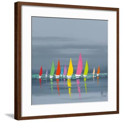 Régate-Fr?d?ric Flanet-Framed Art Print