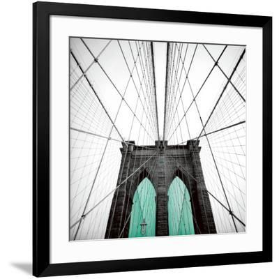 Bb Door Blue-Anne Valverde-Framed Art Print