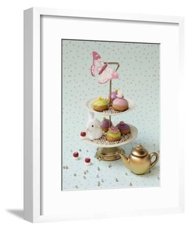 Cakes and Rabbit-Louis Gaillard-Framed Art Print