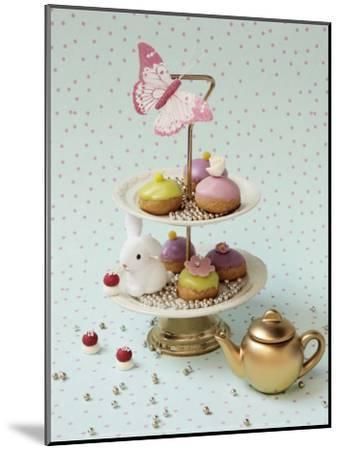 Cakes and Rabbit-Louis Gaillard-Mounted Art Print