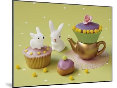 Cupcakes and Rabbits-Louis Gaillard-Mounted Art Print