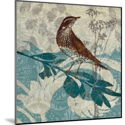 Songbird I-Carol Robinson-Mounted Art Print