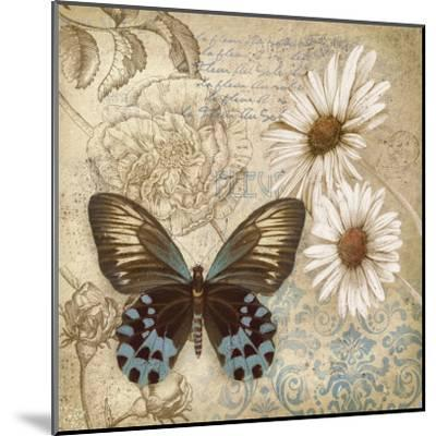 Butterfly Garden I-Conrad Knutsen-Mounted Art Print