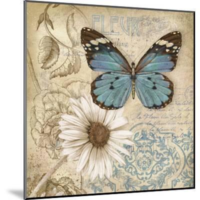 Butterfly Garden II-Conrad Knutsen-Mounted Art Print