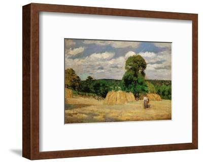 The Harvest, c 1876 Art Print by Camille Pissarro | Art com
