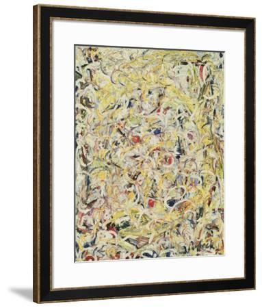 Shimmering Substance, c.1946-Jackson Pollock-Framed Art Print
