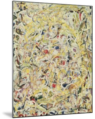 Shimmering Substance, c.1946-Jackson Pollock-Mounted Art Print