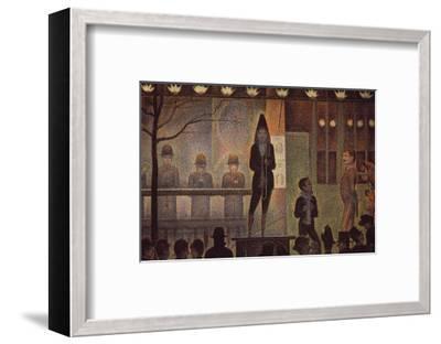 Circus Sideshow-Georges Seurat-Framed Art Print