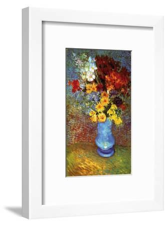 Vase with Anemone-Vincent van Gogh-Framed Art Print