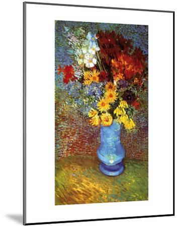 Vase with Anemone-Vincent van Gogh-Mounted Art Print