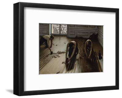 The Floor Scrapers, c.1875-Gustave Caillebotte-Framed Art Print