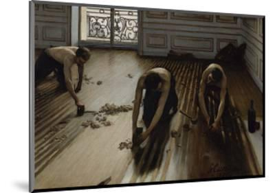 The Floor Scrapers, c.1875-Gustave Caillebotte-Mounted Art Print