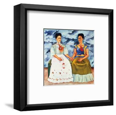 The Two Fridas, c.1939-Frida Kahlo-Framed Art Print