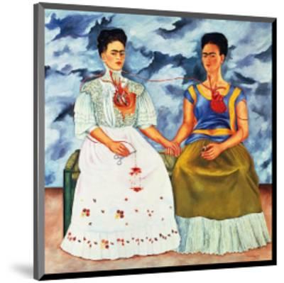 The Two Fridas, c.1939-Frida Kahlo-Mounted Art Print