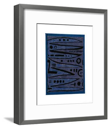 Heroic Strokes of the Bow, c.1928-Paul Klee-Framed Art Print