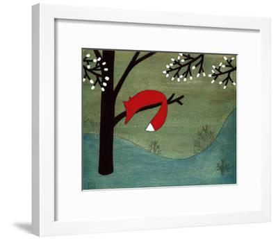 Fox on Sunday-Kristiana P?rn-Framed Art Print