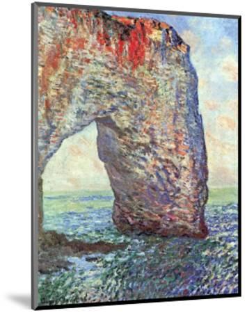 The Manneporte near Etretat, c.1886-Claude Monet-Mounted Art Print