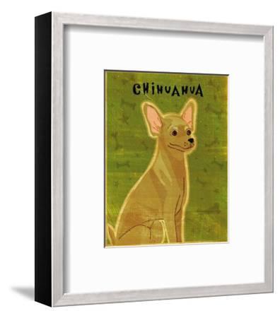 Chihuahua (tan)-John Golden-Framed Art Print