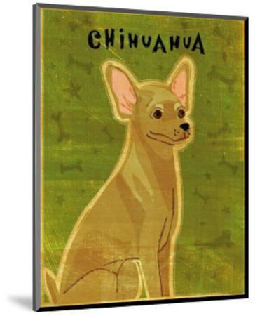 Chihuahua (tan)-John Golden-Mounted Art Print